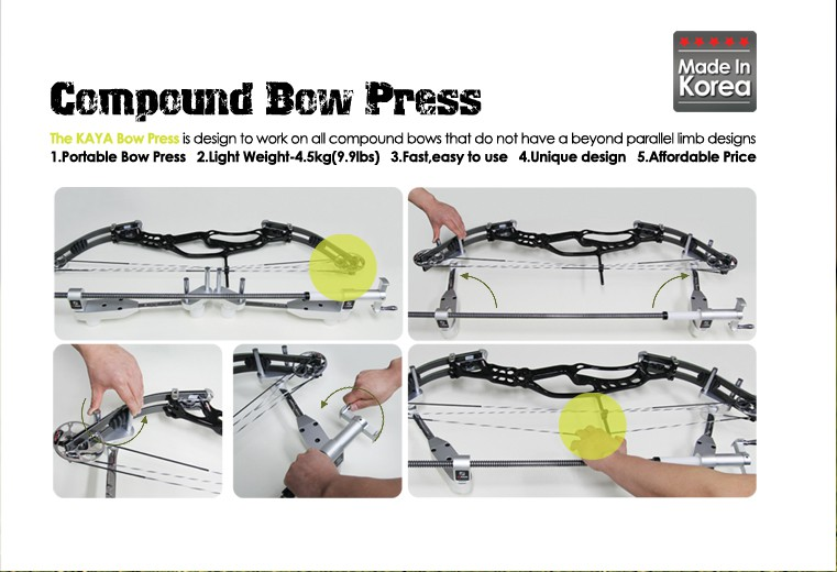 Kaya Compound Bowpress Professional ( portable )