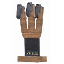 TLE Glove Double Seam Velour braun S/M/L/XL  LG4