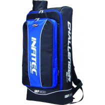 Infitec Challenger Backpack grey,blue,red