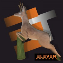 Eleven Leaping Deer E46 3D Target